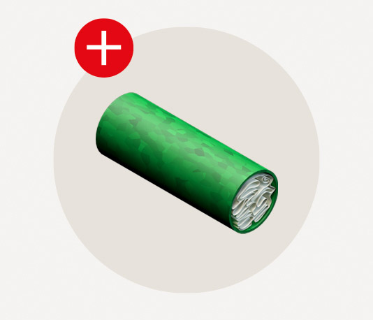 Image of a biodegradable filter for hemp pre-roll production.